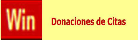 Donaciones de Citas